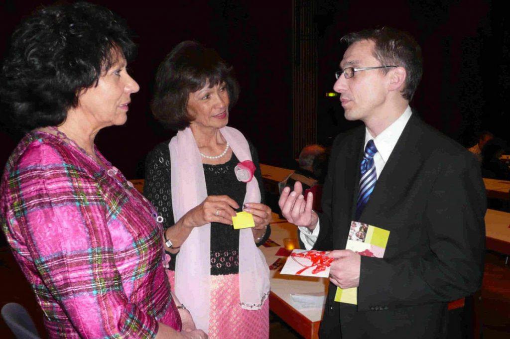 Unter den Gästen war auch der Bürgermeister von Tettnang, Herr Bruno Walter