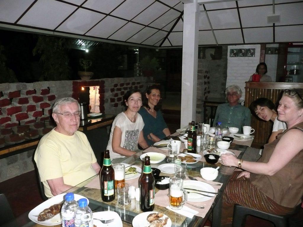 Abendessen in gemütlicher Runde