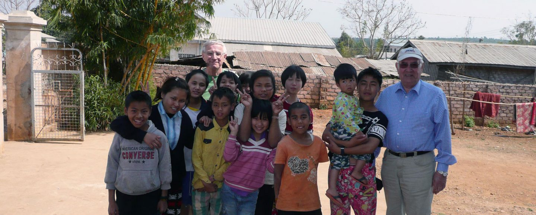 Die Kinder des Waisenhauses freuten sich über unser Kommen