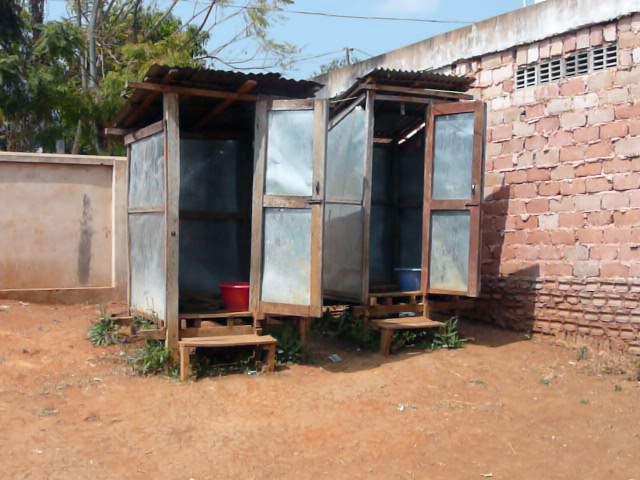 Die Toilettenanlage ...