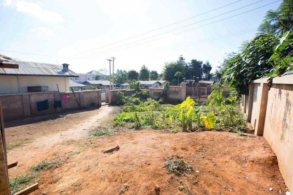Auf diesem Gelände soll einmal das neue Waisenhaus entstehen