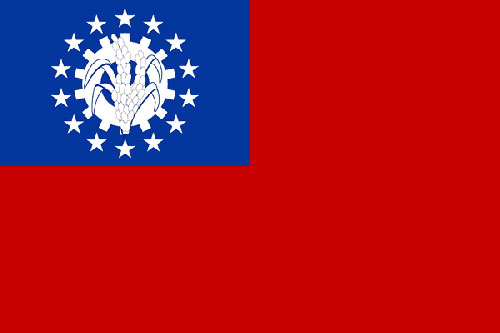 alte Nationalflagge