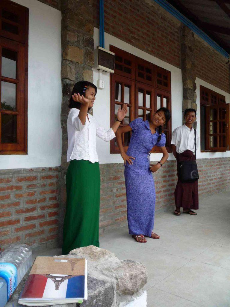 Auch ältere Mädchen unserer Sponsoren erfreuten uns mit einer Tanzeinlage