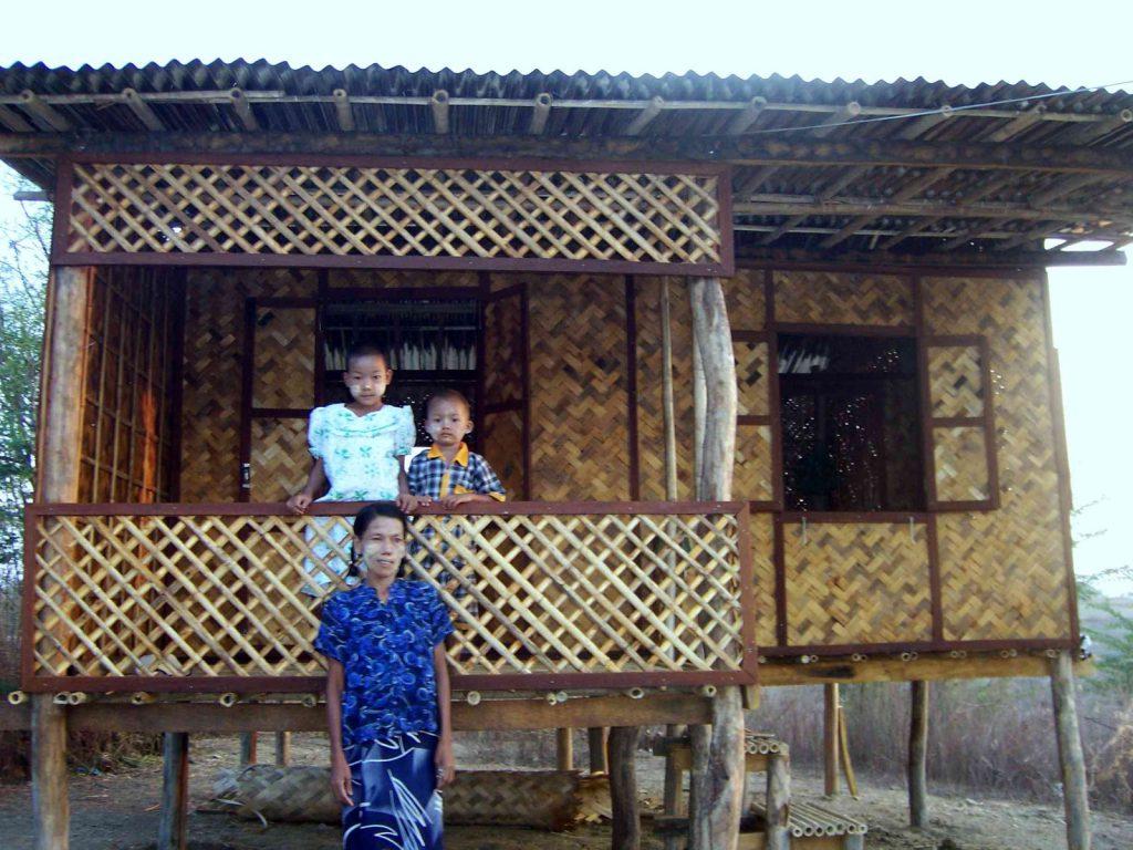 ... und die dafür neu gebaute Hütte