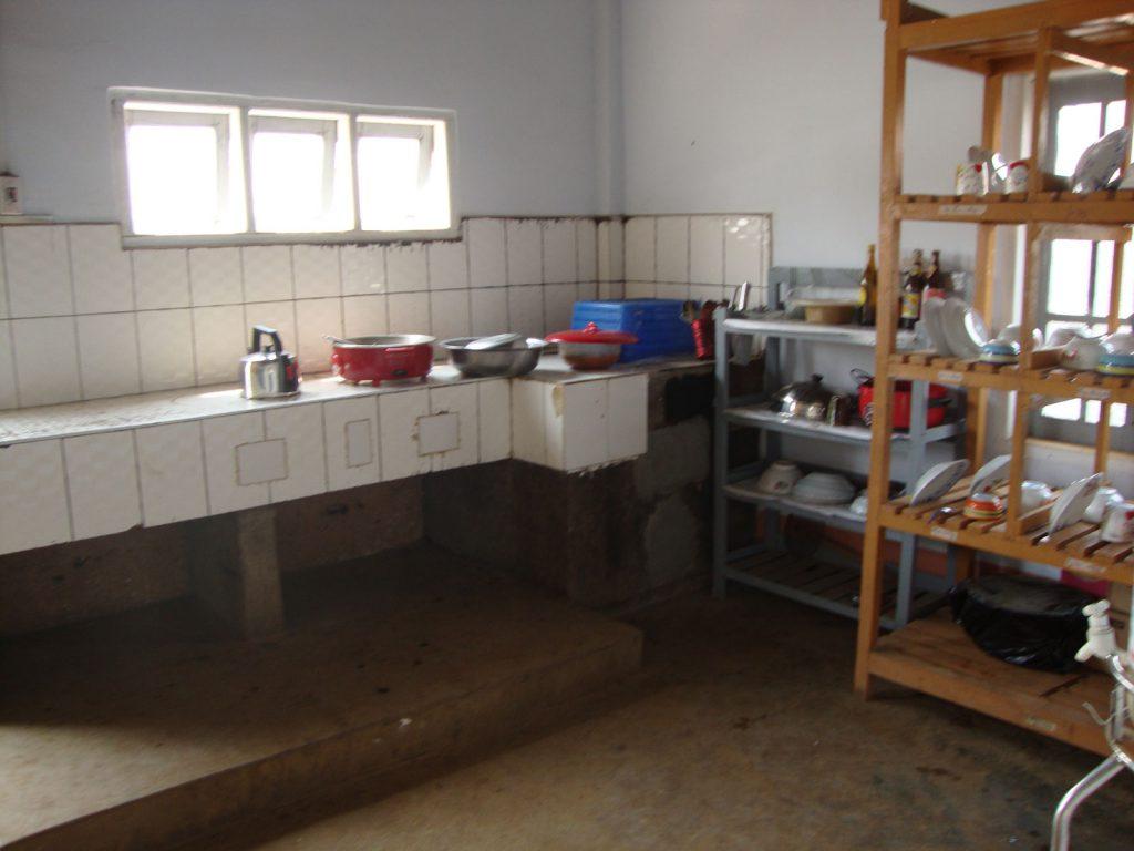Ansicht der Küche nach der Renovierung
