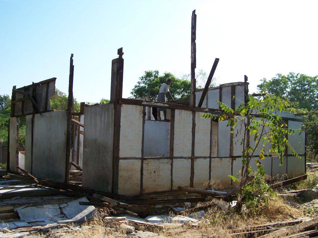 Platz für ein weiteres Schulgebäude