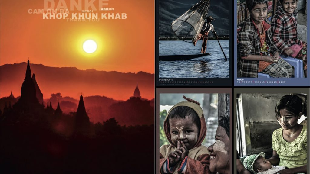Foto-Kalender Birma 2019