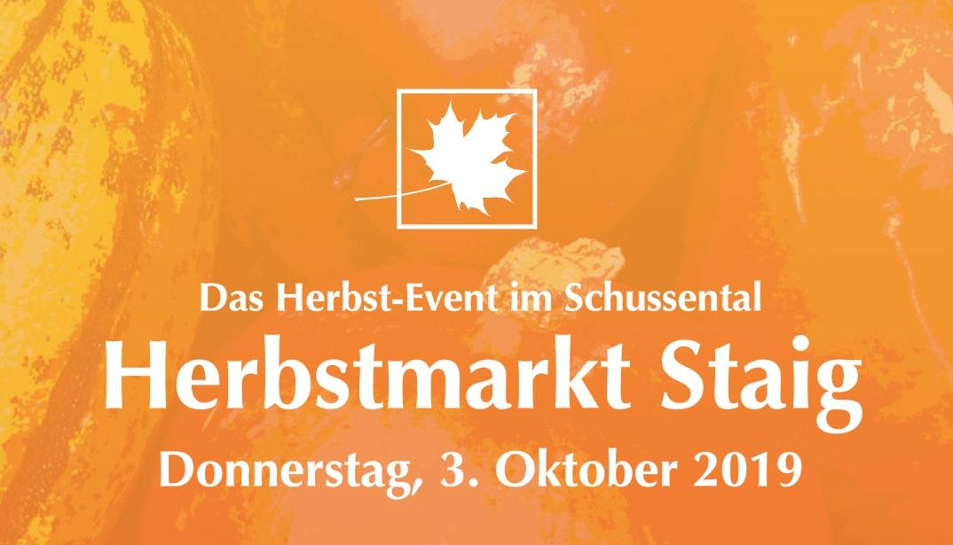 Herbstmarkt Staig 2019