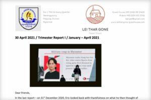 Trimester Report-I-2021