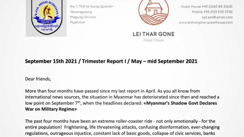 Trimester Report-II-2021